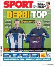 diarios deportivos del 8 de diciembre de 2018