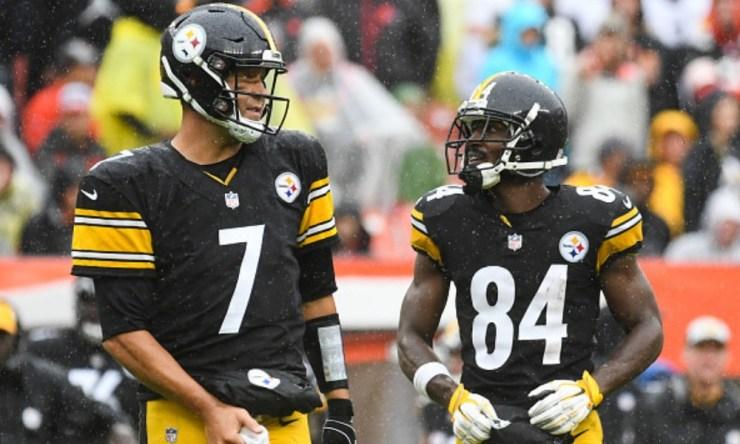 Antonio Brown solicitó salir de Pittsburgh