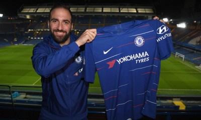 Chelsea anunció la contratación de Gonzalo Higuaín