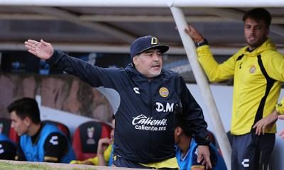 Maradona no ha regresado a México