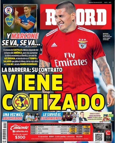 diarios deportivos del 09 de enero de 2019