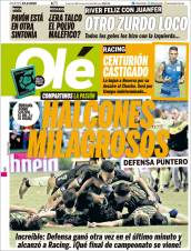 Defensa y Justicia continúa en plan grande en la Superliga de Argentina tras vencer a Argentinos Jrs. y se coloca en el segundo sitio de la tabla general. (Olé)