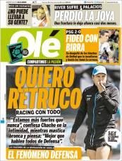 Eduardo Coudet, entrenador del Racing, buscará mantenerse como líder de la Superliga de Argentina. (Olé)