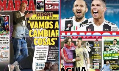 diarios deportivos del 12 de marzo de 2019