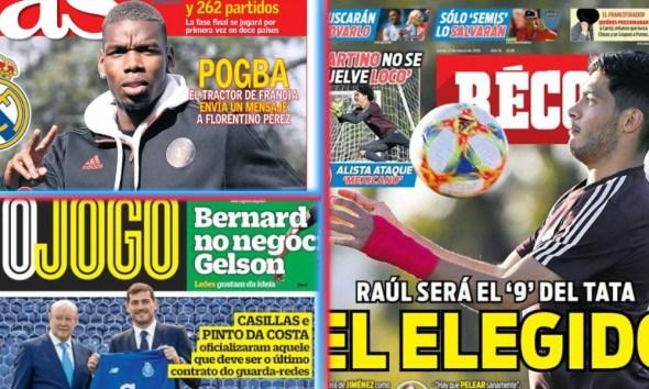 diarios deportivos del 21 de marzo de 2019