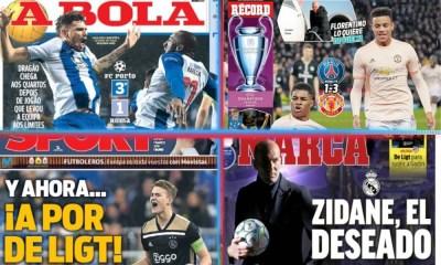 diarios deportivos del 7 de marzo de 2019