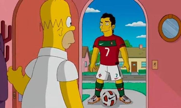 Cristiano Ronaldo Simpson