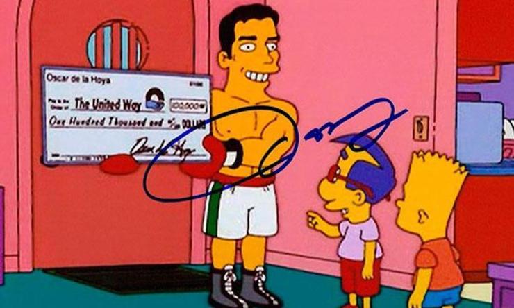 Óscar de la Hoya Simpson