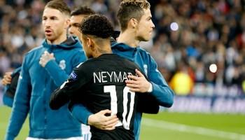 Cristiano Ronaldo se reunió con Neymar