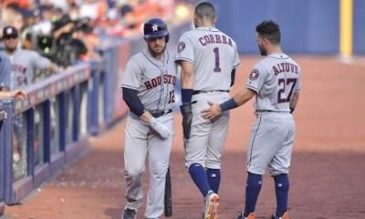 Los Astros apalearon a los Angels