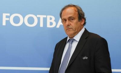Michel Platini fue detenido