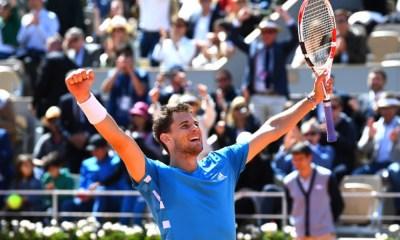 Thiem derrotó a Djokovic