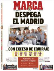 El Real Madrid está listo para iniciar su pretemporada en el Continente Americano. (Marca)