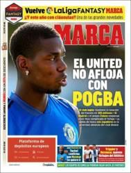La llegada de Paul Pogba al Real Madrid se complica. (Marca)