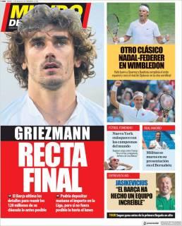 Esta semana se podría definir el futuro de Antoine Griezmann. (Mundo Deportivo)