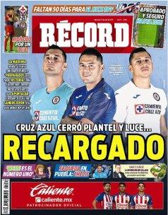 Cruz Azul presentó su nueva armadura para el Apertura 2019. ( Récord)