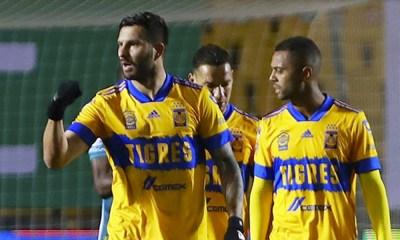 Carlos González marcó con Tigres ante León