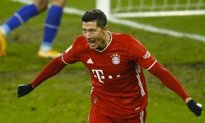 Robert Lewandowski llegó a 500 goles