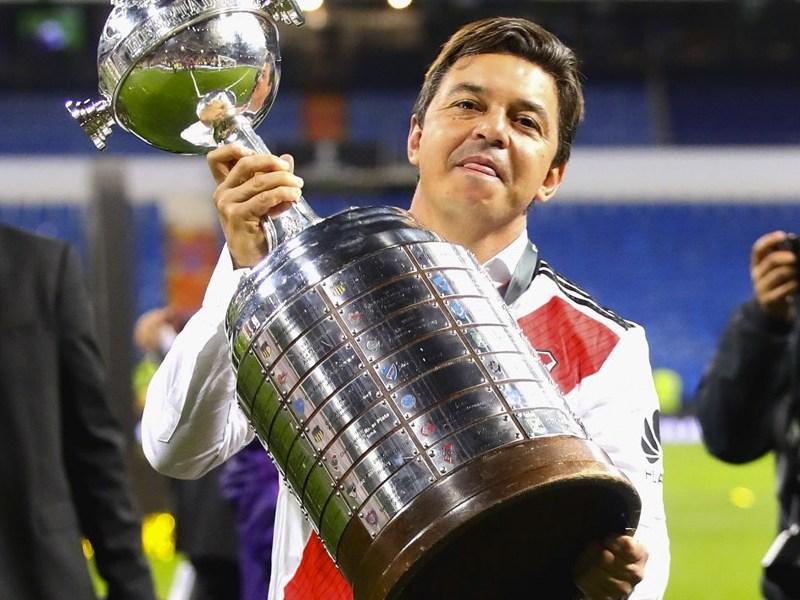 Marcelo Gallardo con River Plate