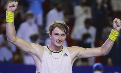 Zverev ganó el Abierto Mexicano de Tenis