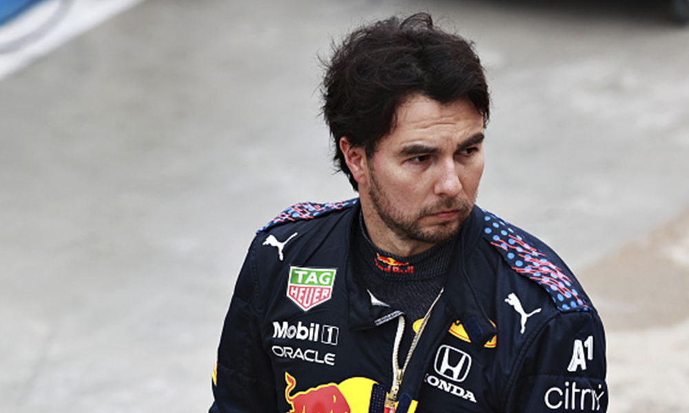 Checo Pérez en el GP de Imola