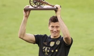 Lewandowski goleador histórico de la Bundesliga