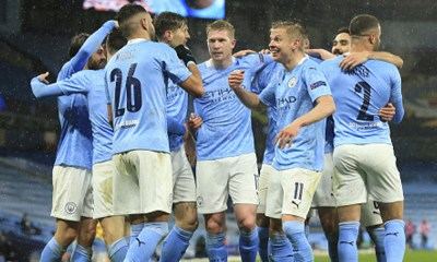 Manchester City 2-0 PSG