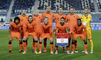 Selección Países Bajos en Eurocopa