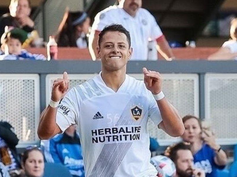 Chicharito sumó 10 goles en MLS con Galaxy