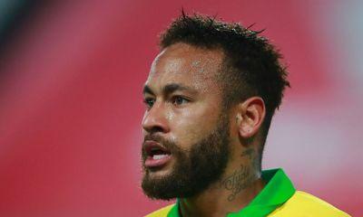 Neymar casi sufre una lesión