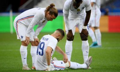 Karim Benzema se lesionó en el Francia vs Bulgaria