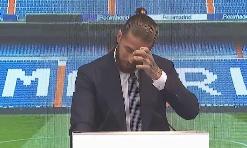 Sergio Ramos se despidió del Real Madrid