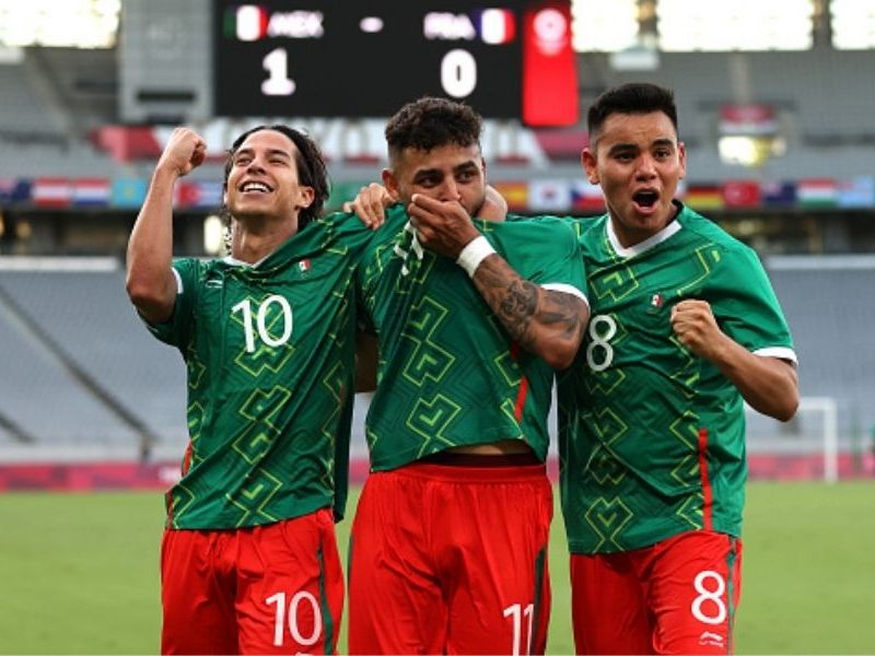 México Sub 23 venció a Francia en Tokio 2020