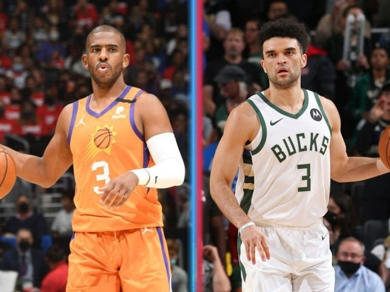 Suns y Bucks disputarán NBA Finals 2021