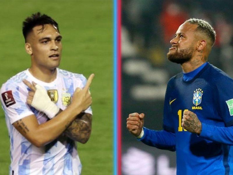 Argentina y Brasil invictos en las eliminatorias
