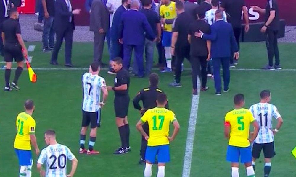 Partido entre Brasil y Argentina fue suspendido por Ministros de Salud