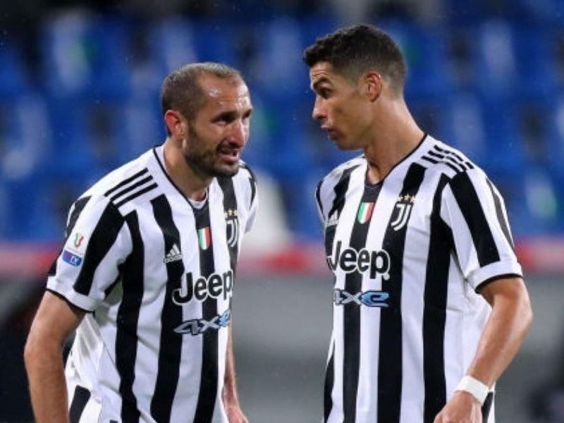 Giorgio Chiellini salida de Cristiano de Juventus