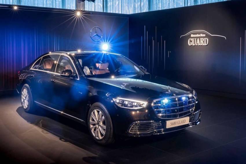 Mercedes Clase S Guard 2022