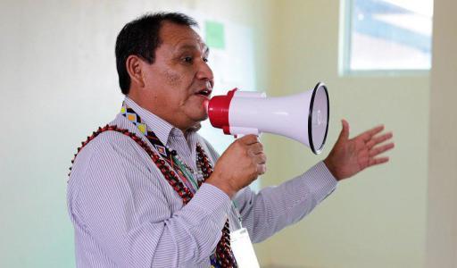 Nación Wampís comparte experiencia de Gobierno Territorial Autónomo en FOSPA 2017