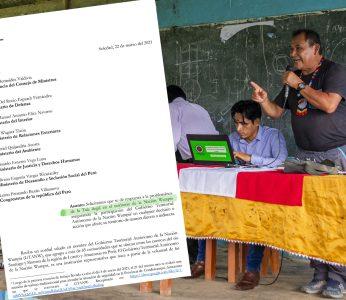 GTANW plantea al estado peruano realizar operativo conjunto en la frontera con Ecuador para enfrentar el comercio ilegal de madera