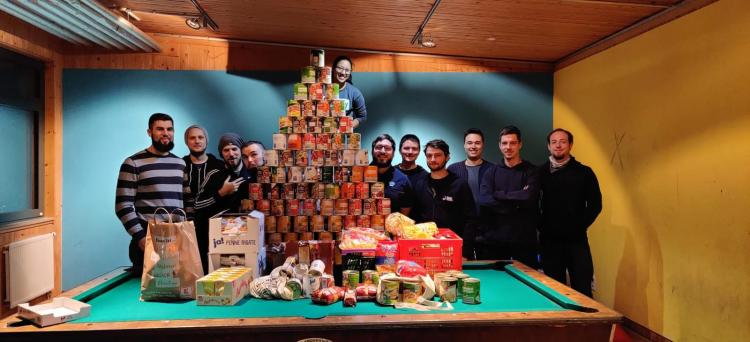 Charity Aktion 2019 - Gruppenfoto