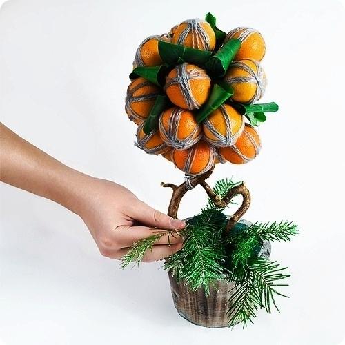 A boldogság topiary fája
