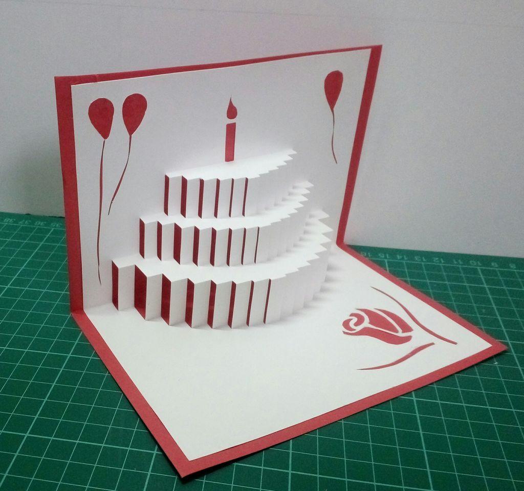 Создание 3д открытки своими руками, открытка