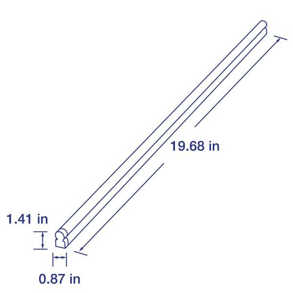2 ft. 4000K, 1260lm RetroStick LED T5