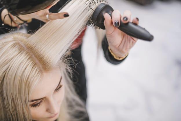 cabelo modelado
