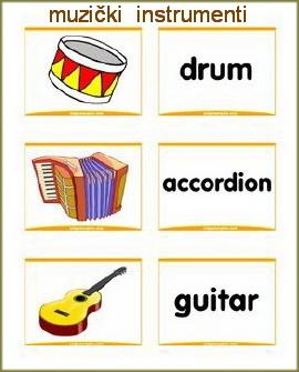 muzički instrumenti