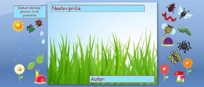Zverčice iz trave