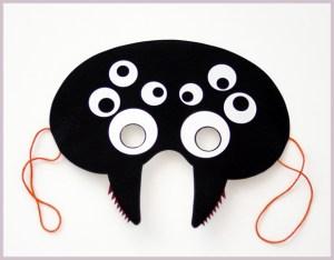 dečija maska pauk