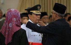 H Sukiman Resmi Jabat Bupati Kabupaten Rohul