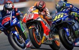 Marc Marquez Juara I, Valentino Rossi Juara III Balapan MotoGP di Sirkuit Le Mans